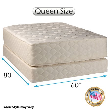 highlight luxury firm queen size 60 x80 x14 mattress box spring set fully assembled. Black Bedroom Furniture Sets. Home Design Ideas