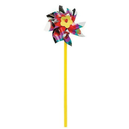 Fun Express Rainbow Pinwheel Set (3 Dozen)](Rainbow Pinwheel)