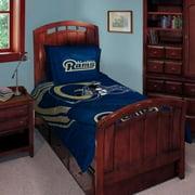 St. Louis Rams NFL Twin Full Comforter Pillow Sham Set