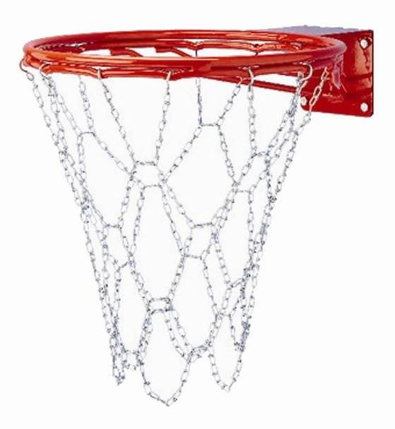 Steel Chain Basketball Net for Double Bumped Ring Goals