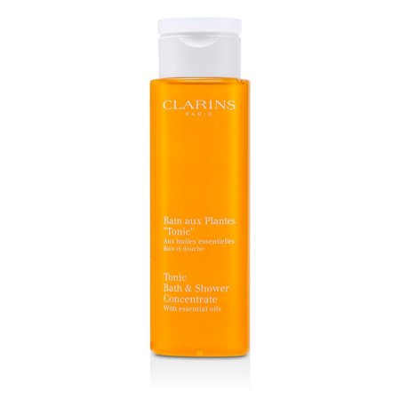 Clarins Tonic Bath & Shower Concentrate with Essential Oils, 6.8 Oz