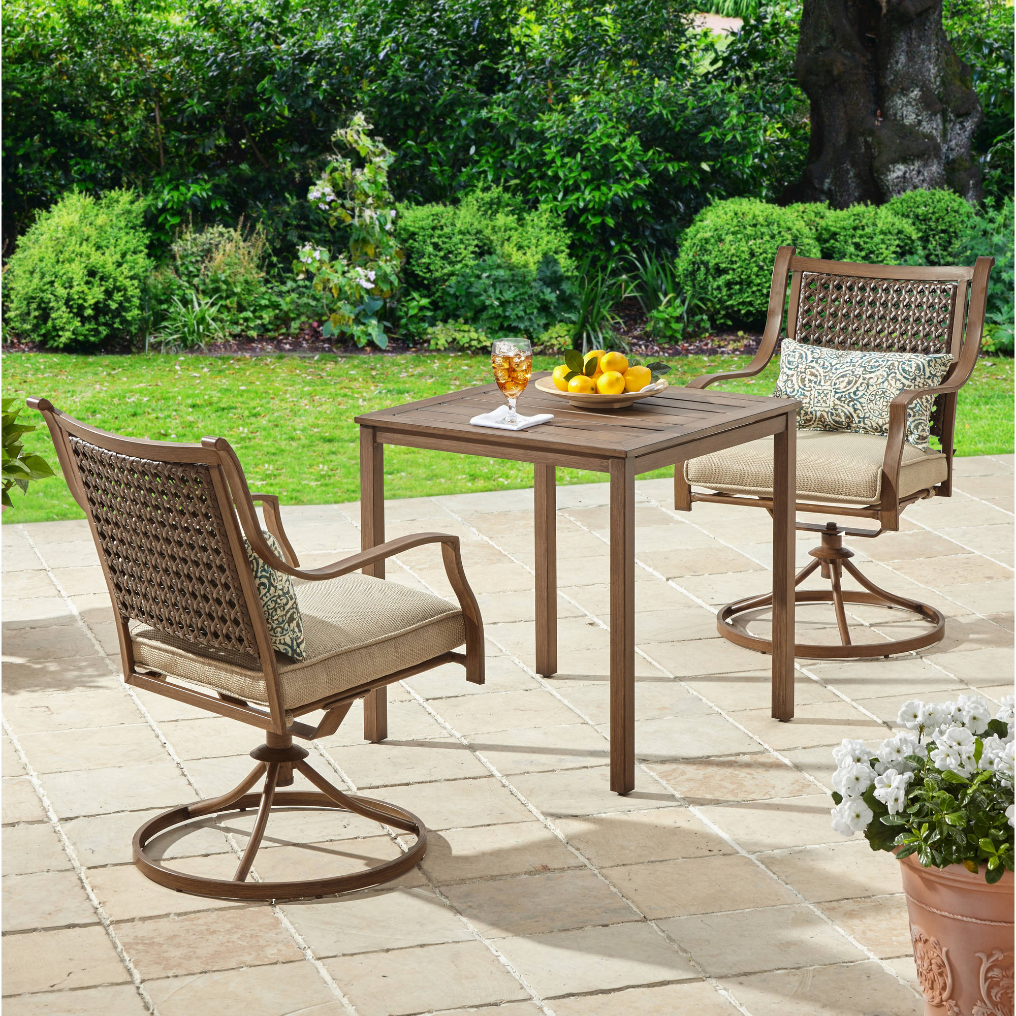 Better Homes and Gardens Lynnhaven Park 3-Piece Outdoor Bistro Set by Zhejiang Huayue Furniture