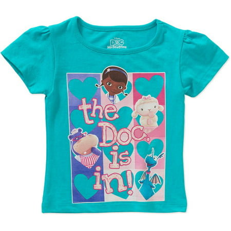 a89f23c051c5 Doc McStuffins - Baby Toddler Girl Graphic Tee Shirt - Walmart.com
