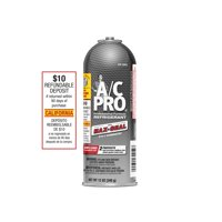 A/C Pro Refrigerant with Max-Seal 2-in-1 Chemistry, 12 oz, California
