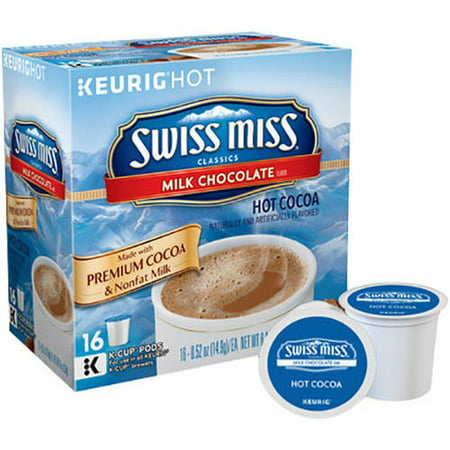 Keurig Swiss Miss Milk Chocolate Hot Cocoa K Cups