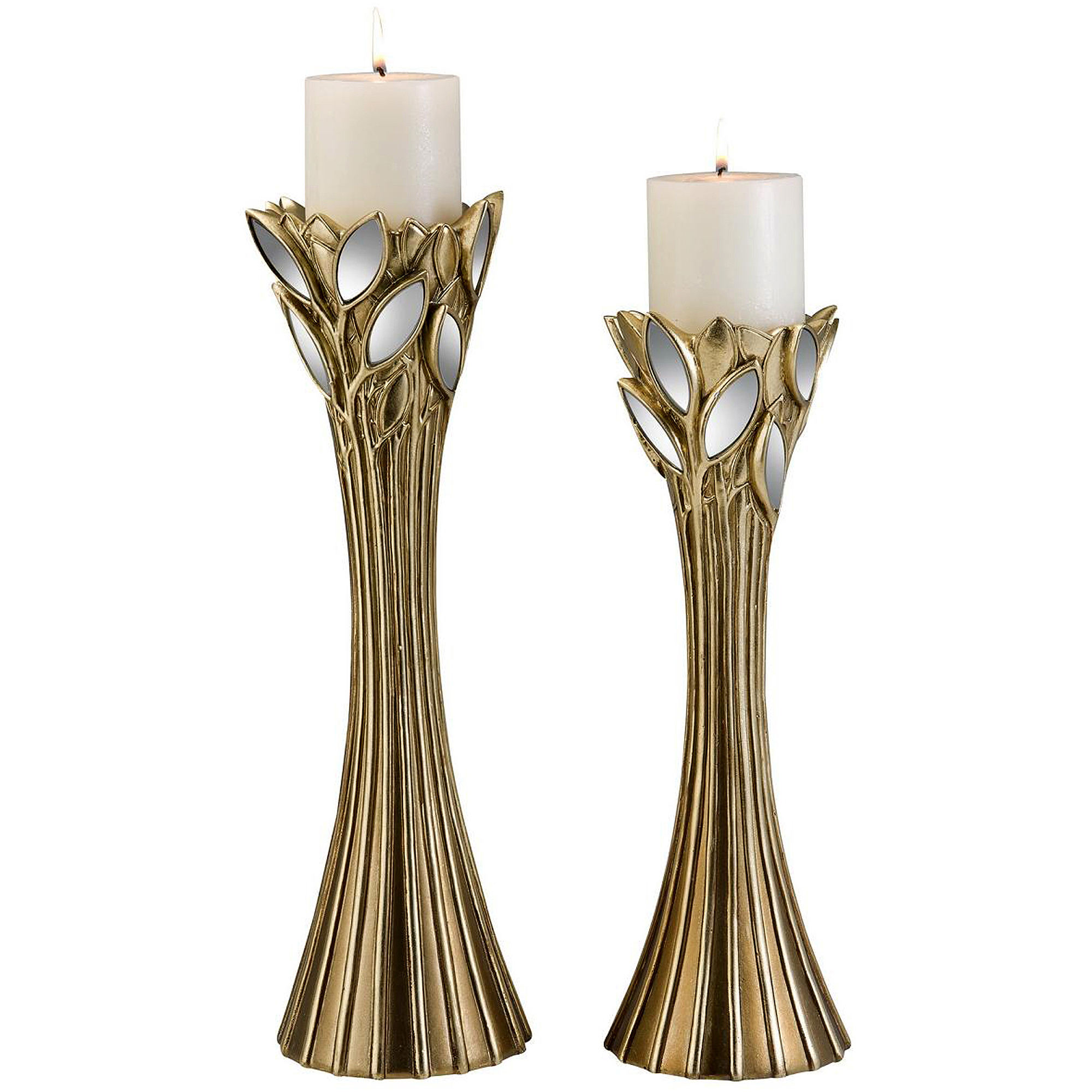 Gaia Decorative Candle Holder Set