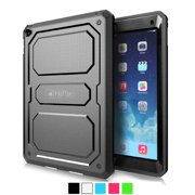 Fintie iPad Air 2 Case - Dual Layer Full Protective Cover with Built-in Screen Protector for iPad Air 2 (2014), Black