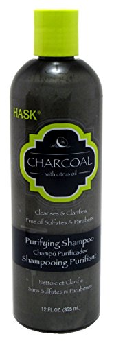 Hask Charcoal With Citrus Oil Purifying Shampoo, 12.0 FL OZ by Inspired Beauty Brands, Inc.