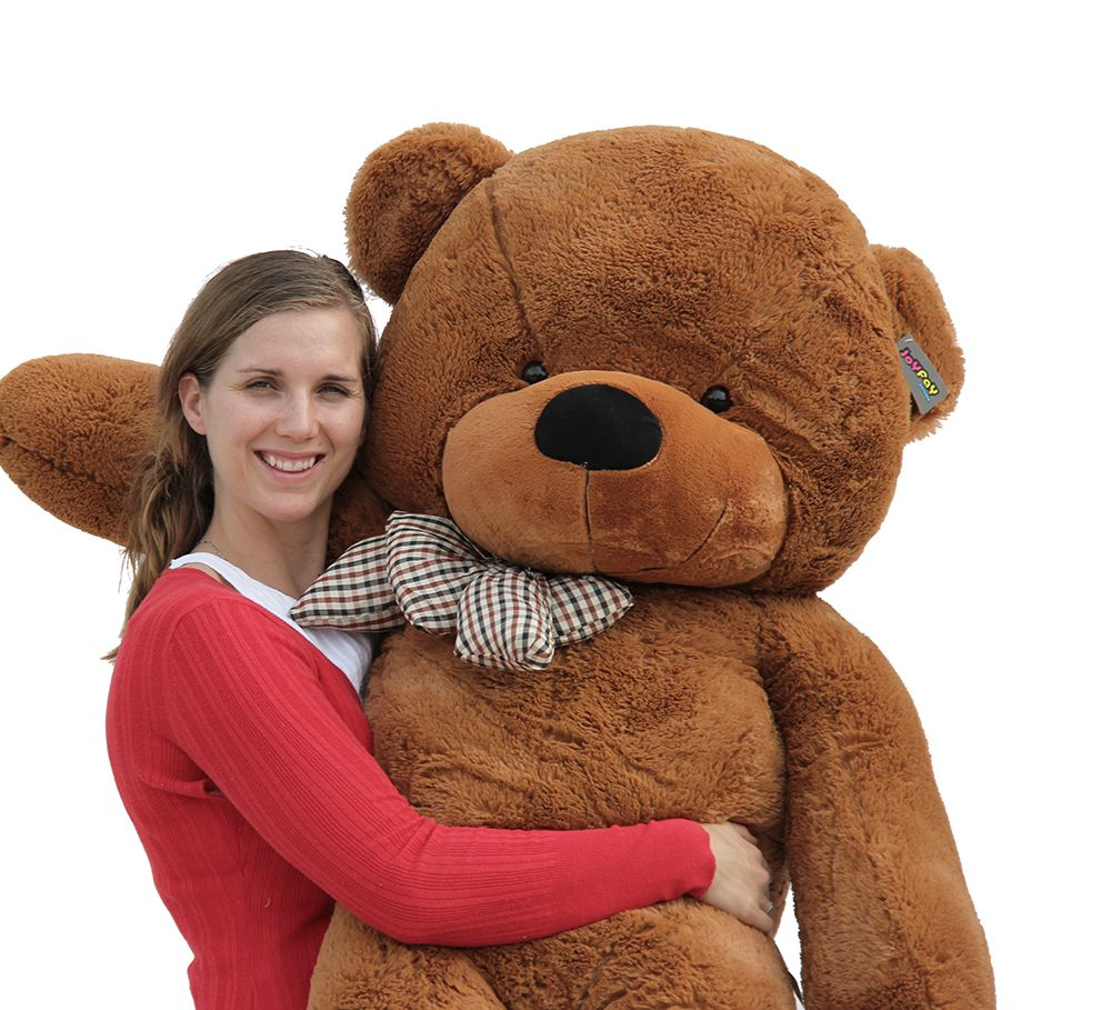 Joyfay Giant Teddy Bear in Dark Brown- 5ft Teddy Bear in Coffee Color, Gift for Easter,... by