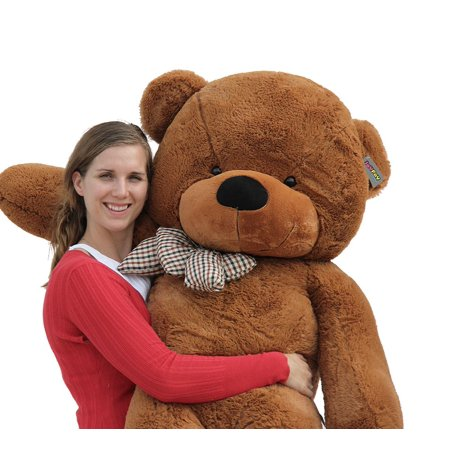 Joyfay Giant Teddy Bear in Dark Brown- 5ft Teddy Bear in Coffee Color, Gift for Easter, Christmas, Valentines Day, and - Giant Eraser