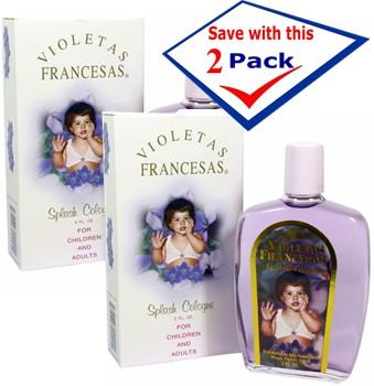 French Violets Splash Cologne 5 Oz  Pack of 2