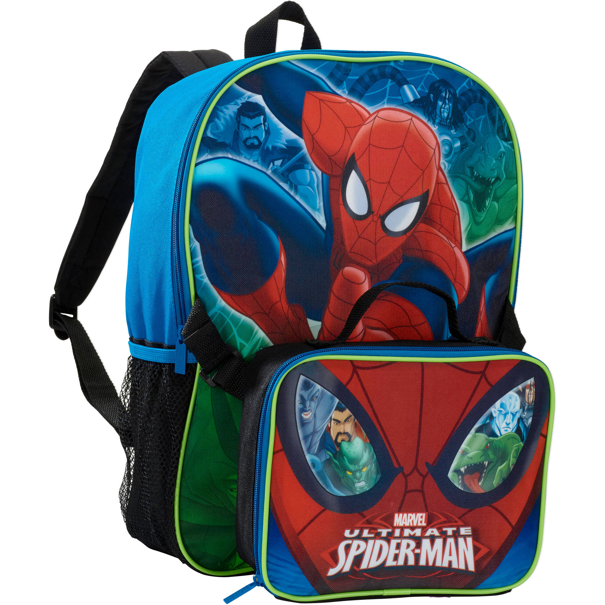 Spider-Man Backpack with Lunch Kit