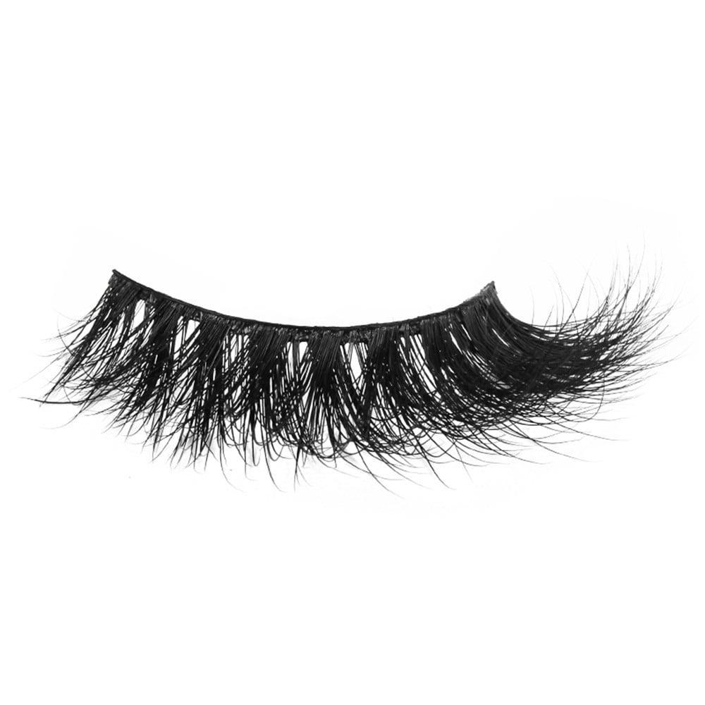 240af1d9cf2 Outtop 1 Pair Crisscross 3D False Eyelashes Long Thick Natural Fake Eye  Lashes - Walmart.com
