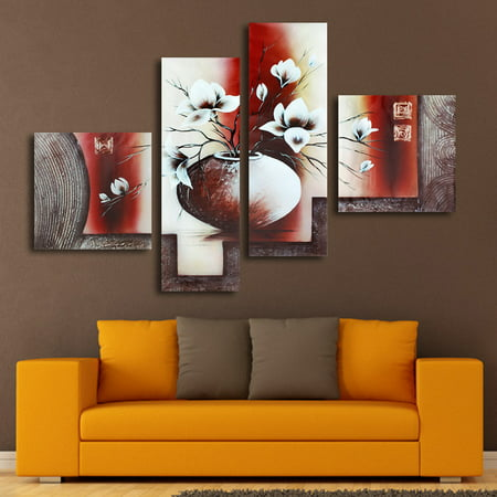 On Clearance  My. Way 1/2/3/5 Pcs Frameless Canvas Prints Pictures, Morden Abstract Paintings, Canvas Wall Art, Home Decor (7 patterns) ()