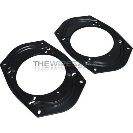 """Xscorpion USPA-6090 Universal 6x9 5x7 6x8 to 5.25"""" 6.5"""" Speaker Adapter (pair)"""