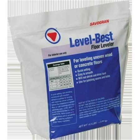 SAVOGRAN Level-Best 12832 Floor Leveler, 4.5 lb
