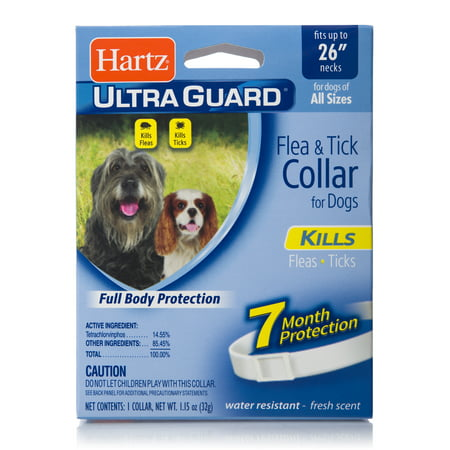 Hartz UltraGuard Flea and Tick Collar for Large (Best Of White Collar)
