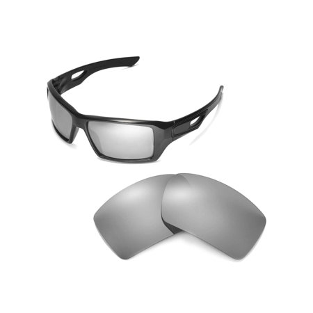 5dd3d2a9eb Walleva - Walleva Titanium Replacement Lenses for Oakley Eyepatch 2 ...