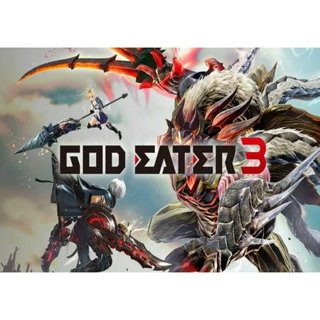 GOD EATER 3, BANDAI NAMCO Entertainment, Nintendo Switch, (Digital Download) 045496664688
