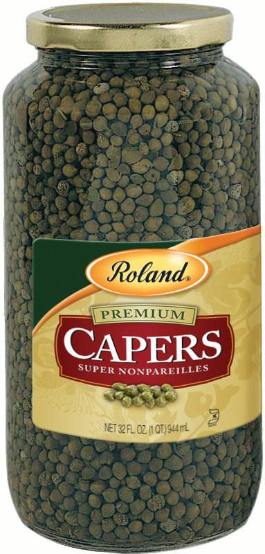 Roland Super Nonpareils Capers, 32 Oz by Roland Corporation