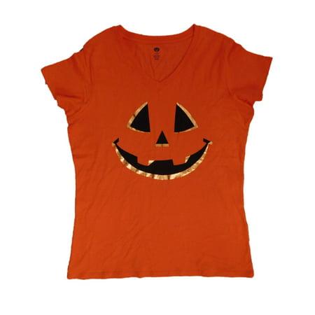 Women's Celebrate the Season Halloween V-Neck Graphic T-Shirt - Women's Halloween T Shirts