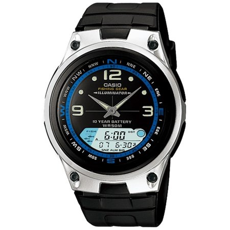 Casio Men's Core AW82-1AV Black Resin Quartz Watch