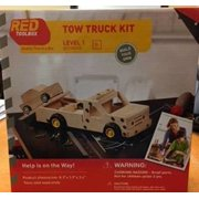 Red Tool Box Tow Truck Building Kit