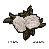Siaonvr Embroidery Lace Flower Clothes Patch DIY Iron On Patches Sew On Patches