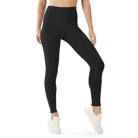 Ma Croix Womens Inner Soft Slim Fit Thermal High Waist Fleece Lined Leggings