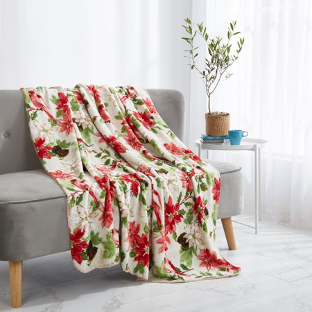 Mainstays Micro Plush Throw Blanket, Available in multiple prints