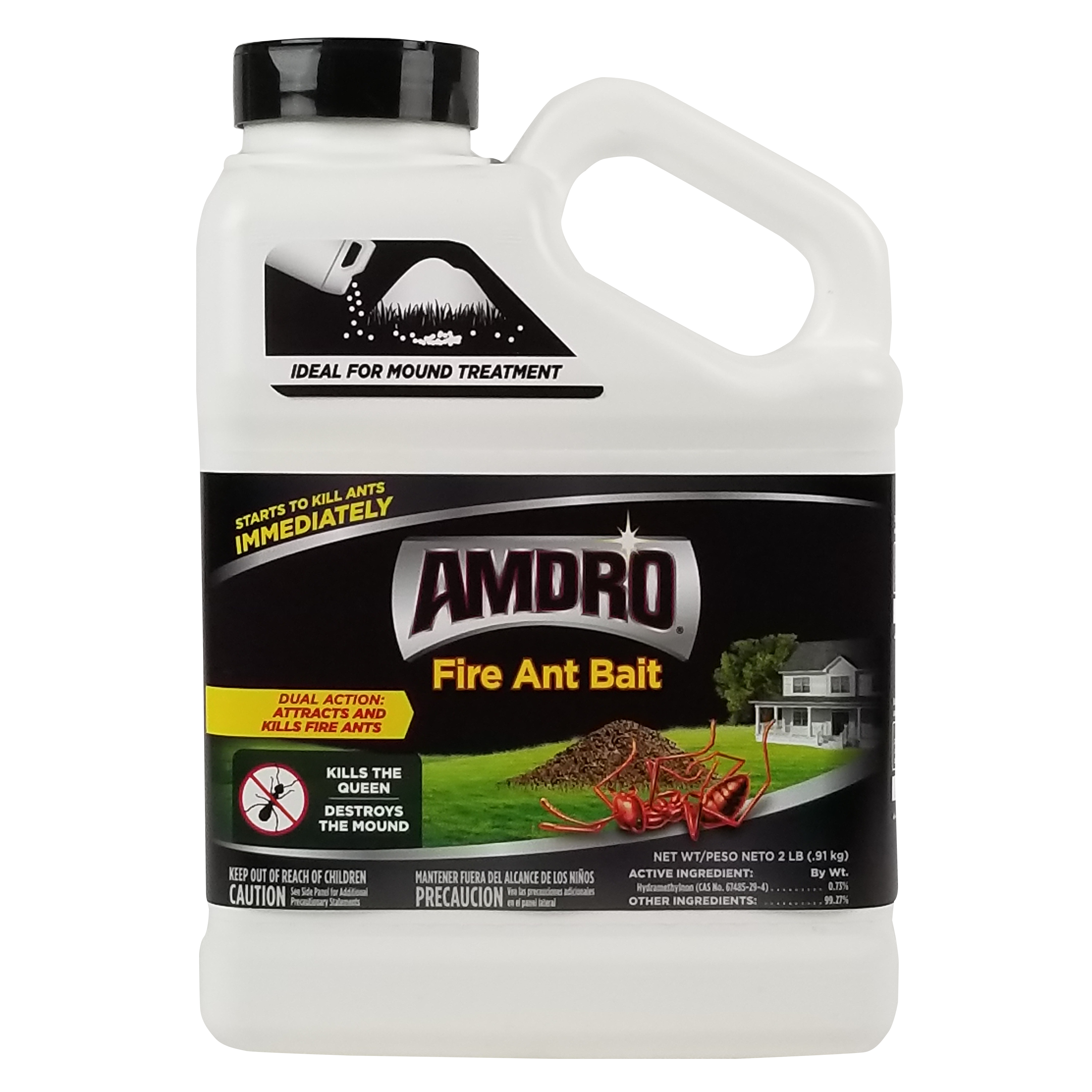 Amdro Fire Ant Bait Mound Treatment Fire Ant Killer, 2 Pounds