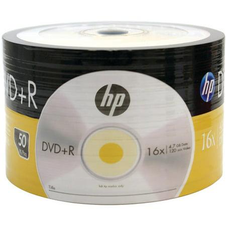 hewlett packard dr00070b 4.7gb 16x dvd+rs, 50-pack Hewlett Packard Face
