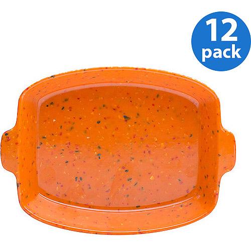 "Zak! Eco-friendly Sprinkles 5"" Appetizer Plates, Set of 12"