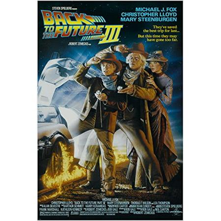 Back To The Future Iii Vintage Movie Poster Fox, Lloyd & Steenburgen (Lloyd Portland)