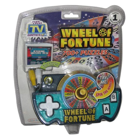 Wheel of Fortune TV Plug & Play (2006) Jakks Pacific Video Game Toy