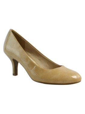 f5c551183ae New Easy Street Womens Passion TaupeCrinklePatent Pumps Size 8.5 (A