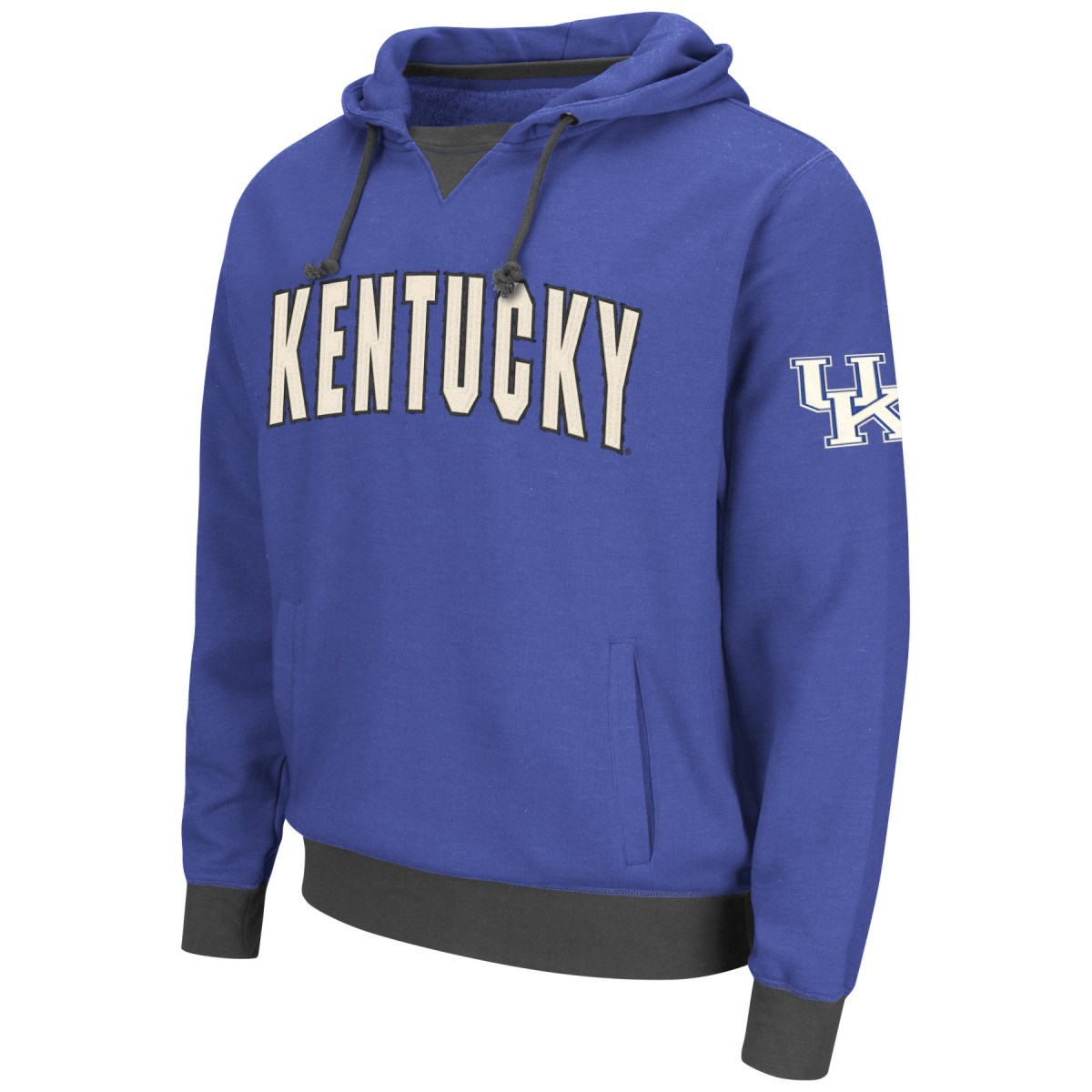 "Kentucky Wildcats NCAA ""Flurry"" Pullover Hooded Men's Sweatshirt"