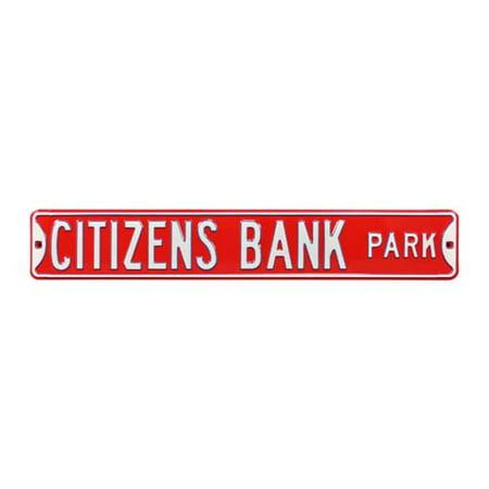 Citizens Bank Park Street Sign