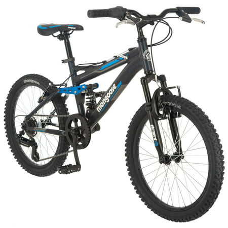 Mongoose Ledge 2.1 Mountain Bike, 20-inch wheels, 21 speed, boys frame,