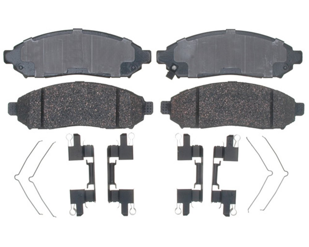 Ac Delco 17d1094ch Brake Pad Set Ceramic Oe Replacement