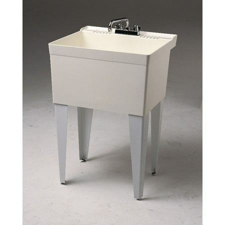 Fiat Floor Sink : Fiat 23 x 21.5 Single Floor Mounted Utility Sink - Walmar...