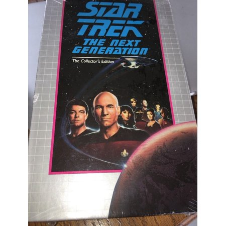 STAR TREK THE NEXT GENERATION COLLECTOR'S ED. ANGEL ONE VHS (30 For 30 Angels In The Outfield)
