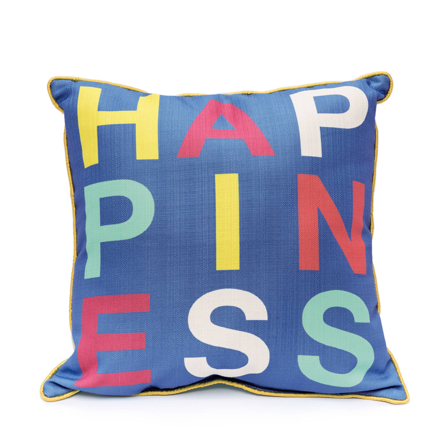 9 by Novogratz Happiness Decorative Pillow