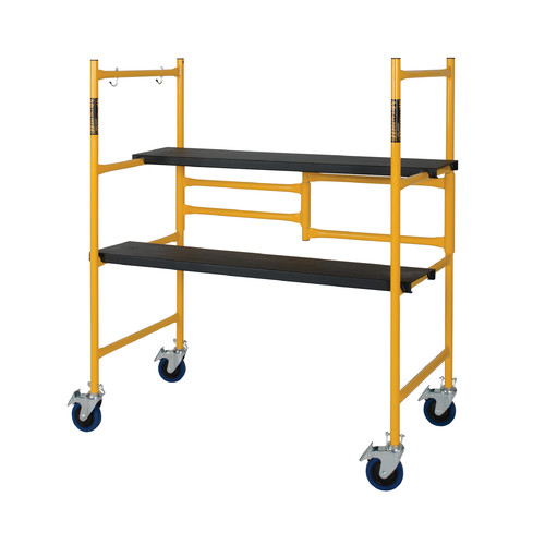METALTECH Portable Scaffold,3-21/64 ft.L,Steel I-IMCN