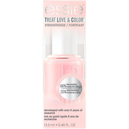 essie Treat Love & Color Nail Polish & Strengthener, Sheers to You (Sheer Finish) 0.46 FO