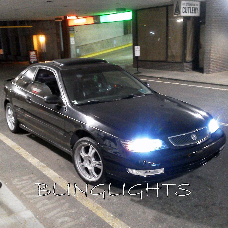 1997 1998 1999 Acura Cl Bright White Replacement Light Bulbs For Headlamps Headlights Walmart Com Walmart Com