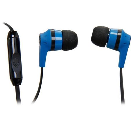 Skullcandy Blue/ Black S2IKDY-101 3.5mm Connector Ink'd 2.0 Earbud Headphones with Mic for Samsung Galaxy S7,s8, S9 S10 , S10e   Note 8, Note