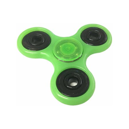 Fidget Spinner High Speed Green Glow In The Dark Relief Toy (Green Glow 4 Price)