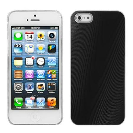 MyBat Brushed Aluminum Metallic Cover Case For iPhone SE 5 5S case -