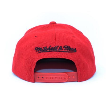 on sale classic reasonable price Mitchell and Ness Toronto Raptors Wool Solid 2 Red Snapback Hat ...